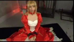 【コスプレエロ動画】Fateセイバーコスプレの美女のアナルを徹底的に犯す!