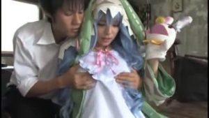 【コスプレエロ動画】インデックスコスのムチムチ美少女がエロすぎぃ!