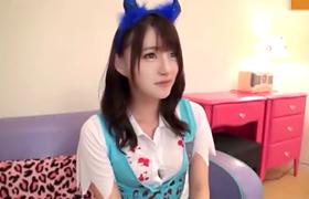 【コスプレエロ動画】ハロウィーンの夜にナンパした仮装美少女を即ハメ!
