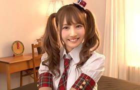 【コスプレエロ動画】ガチアイドルがSKE48時代の服を着てセックスwww