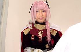 【コスプレエロ動画】こんなに可愛いのに男の娘なFate・アストルフォとセックス!