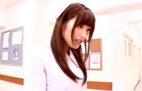 【コスプレエロ動画】可愛いミニスカ看護師が患者を次々とフェラチオ抜き!